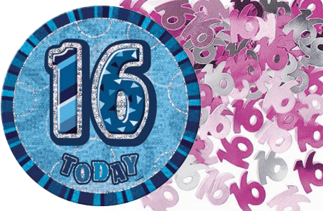 16th Birthday Party Decorations & Ideas | Partyrama.co.uk